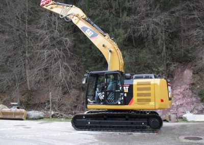 cat320e l in fuhrpark