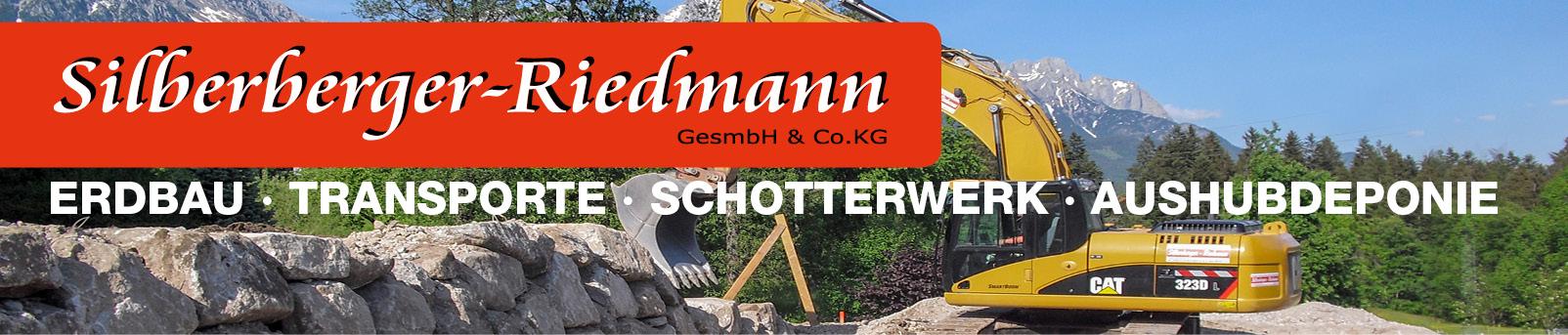 Silberberger-Riedmann Erdbau, Transporte, Schotterwerk, Aushubdeponie
